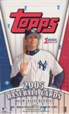 2005 Topps Series 1 Baseball Hobby Box