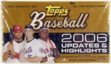 2006 Topps Updates & Highlights Baseball Hobby Set