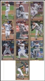 2007 Upper Deck 1st Edition Rookie Redemption Baseball Set (Lot of 10)