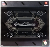 2010 Panini National Treasures Football Hobby Box