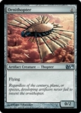 Magic the Gathering 2010 Single Ornithopter Foil