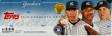 2010 Topps Factory Set Baseball (Box) (N.Y. Yankees)