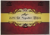 2011 Leaf Cut Signature Edition Hobby Box