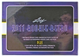 2011 Leaf Rookie Retro Hobby Box