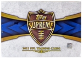 2011 Topps Supreme Football Hobby Box