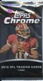 2012 Topps Chrome Football Retail Pack