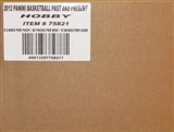 2011/12 Panini Past & Present Basketball Hobby 12-Box Case