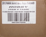 2011/12 Panini Gold Standard Basketball Hobby 10-Box Case