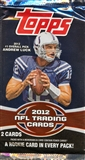 2012 Topps Football Retail Pack