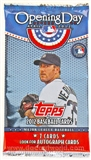 2012 Topps Opening Day Baseball Hobby Pack