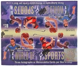 2011 Upper Deck World of Sports Hobby Box