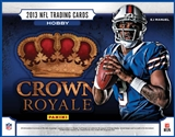 2013 Panini Crown Royale Football Hobby 12-Box Case (Presell)