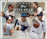 2013 Topps Five Star Baseball Hobby 3-Box Case (Presell)