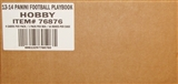 2013 Panini Playbook Football Hobby 10-Box Case - DACW Live 30 Spot Random Team Break