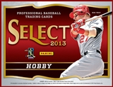 2013 Panini Select Baseball Hobby 12-Box Case (Presell)