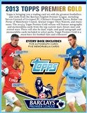 2013 Topps English Premier League Gold Soccer Hobby 6-Box Case (Presell)