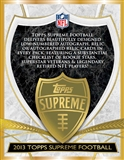2013 Topps Supreme Football Hobby Box (Presell)