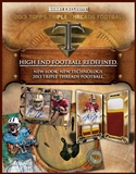 2013 Topps Triple Threads Football Hobby Box (Presell)