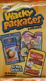 Wacky Packages Series 11 Trading Cards Stickers Retail Pack (Topps 2013)