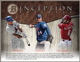 2014 Bowman Inception Baseball Hobby 8-Box Case (Presell)