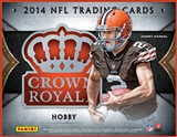 2014 Panini Crown Royale Football Hobby Box (Presell)