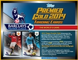 2014 Topps English Premier League Gold Soccer Hobby 6-Box Case (Presell)