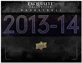2013/14 Upper Deck Exquisite Basketball Hobby 3-Box Case (Presell)