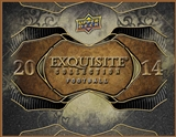 2014 Upper Deck Exquisite Football Hobby 3-Box Case (Presell)
