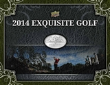 2014 Upper Deck Exquisite Golf Hobby Case - DACW Live 6 Spot Card Draft