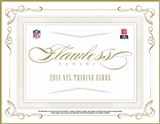Image for 2014 Panini Flawless Football Hobby 2-Box Case- DACW Live 32 Team Random Break #1