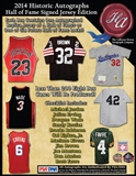 2014 Historic Autograph Hall of Fame Jersey Edition Hobby 8-Box Case (Presell)