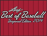 2014 Leaf Best Of Baseball Unopened Edition Hobby 6-Box Case (Presell)