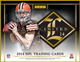 2014 Panini Limited Football Hobby 15-Box Case - DACW Live 30 Team Random Case Break #1