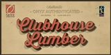 2014 Onyx Clubhouse Collection Lumber Edition Baseball Hobby Box (Presell)