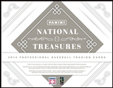 2014 Panini National Treasures Baseball Hobby 4-Box Case (Presell)