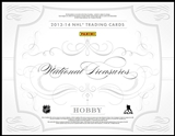 2013-14 Panini National Treasures Hockey Case - DACW Live 30 Spot Random Team Break #6