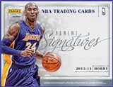 2013/14 Panini Signatures Basketball Hobby Box (Presell)