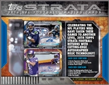 2014 Topps Strata Football Hobby Box (Presell)