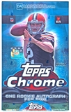 2014 Topps Chrome Football Hobby 12-Box Case - DACW Live 30 Spot Random Team Break #1