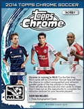 2014 Topps MLS Chrome Soccer Hobby 12-Box Case (Presell)