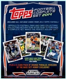 2014 Topps Hobby Factory Set Football (Box) Case (12 Sets) (Presell)