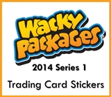 Wacky Packages Series 1 Trading Cards Stickers Box (Topps 2014) (Presell)