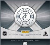 2013/14 Panini Totally Certified Hockey Hobby 12-Box Case (Presell)