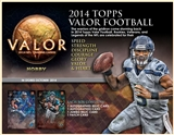 2014 Topps Valor Football Hobby 12-Box Case (Presell)