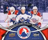 2015/16 Upper Deck AHL Hockey Hobby Box