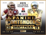 2015 Panini Contenders Draft Picks Football Hobby 12-Box Case (Presell)