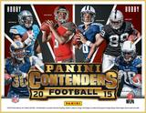 2015 Panini Contenders Football Hobby 12-Box Case (Presell)