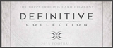 2015 Topps Definitive Collection Football Hobby 3-Box Case (due February)