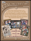 2015 Topps Gypsy Queen Baseball Hobby 10-Box Case (due April)