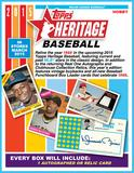 2015 Topps Heritage Baseball Hobby 12-Box Case (due March)